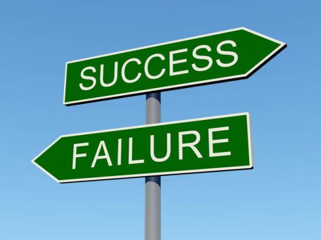 successandfailuresign